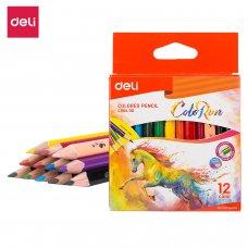 C00400 Deli Color Pencils 12 Colors