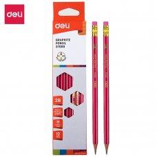 E37000 Deli Graphite Pencil (12pcs/box)