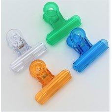 9508 Transparent Plastic Clip 64mm