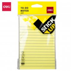 """EA00752 Deli To Do Sticky Notes 6""""x4"""""""